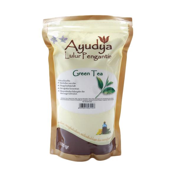 Ayudya Lulur Pengantin Green Tea [Refill 1000 gr]