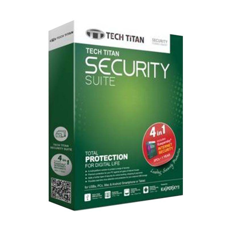 Kaspersky Tech Titan Security Suite 2015 Software [3 User]