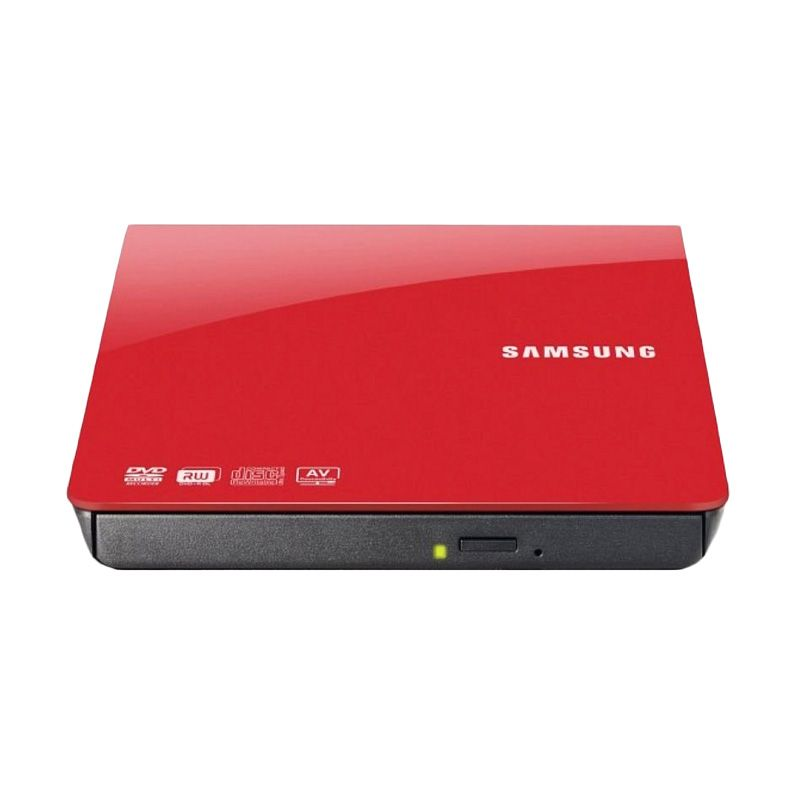 Samsung Red Portable DVD RW