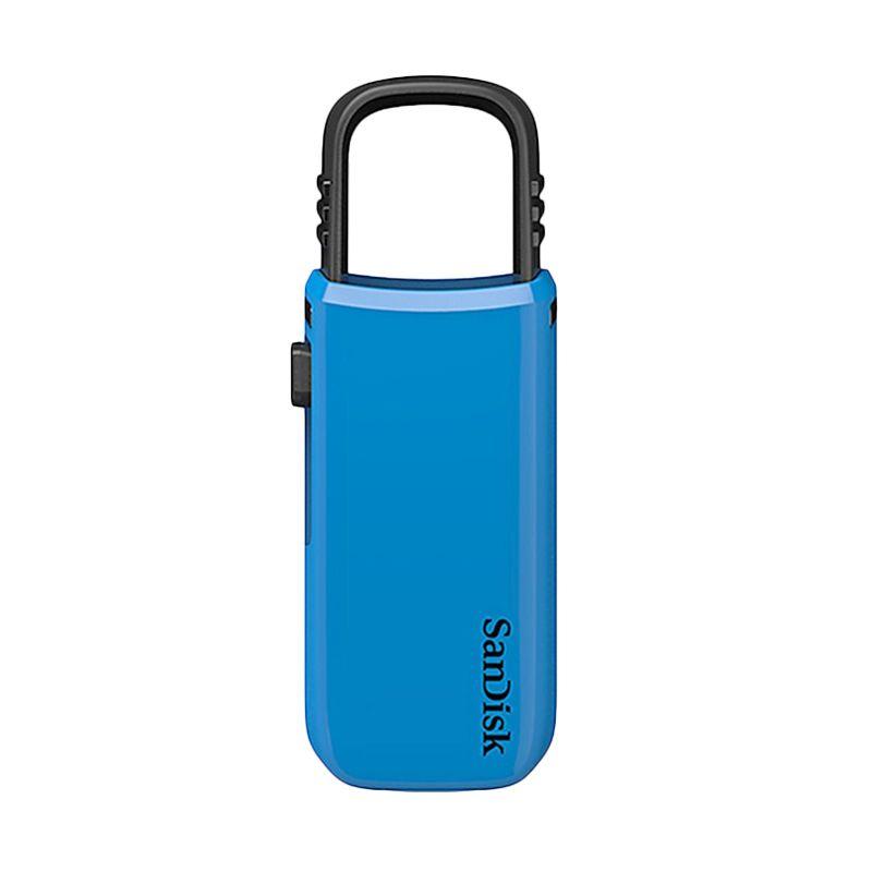 Sandisk Cruzer U Biru Flashdisk [16 GB]