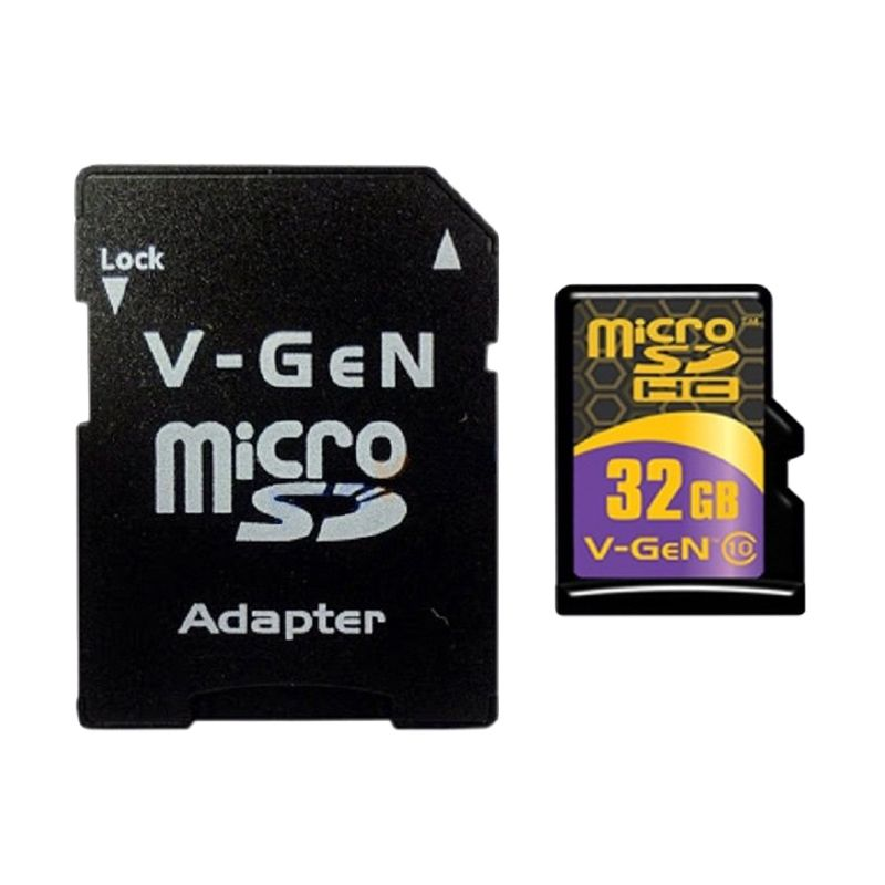V-Gen Micro SDHC Class 10 Turbo Series Memory Card [32 GB]