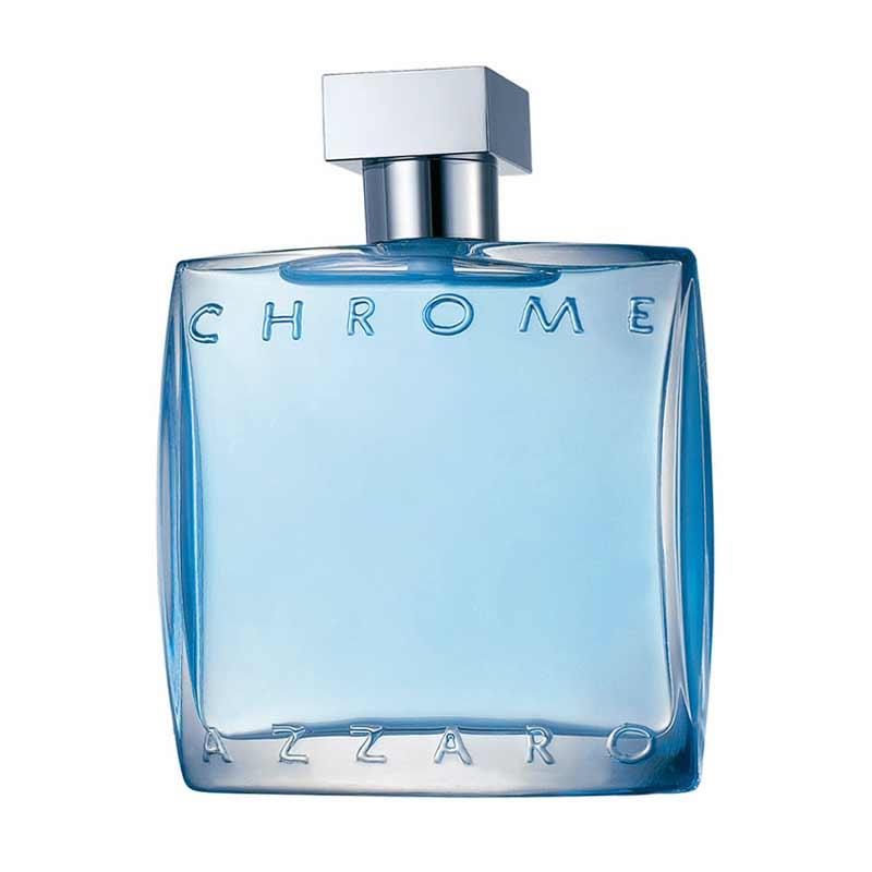 Azzaro Chrome for Men Parfum EDT Pria [100 mL]