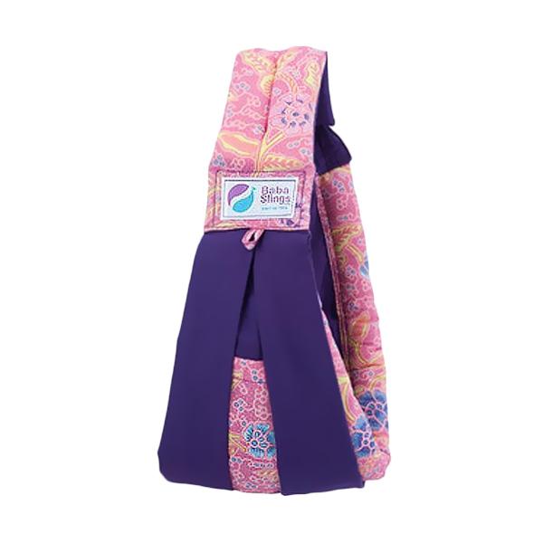 Baba Slings Pink Batik Gendongan Bayi