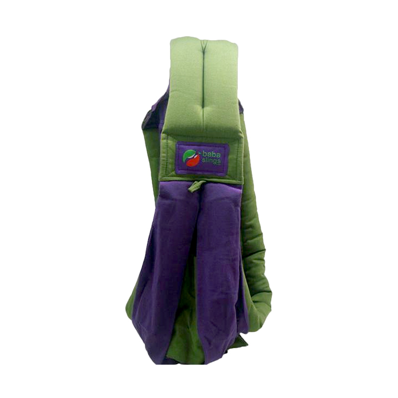 Baba Slings Two Tone  Gendongan Bayi - Purple Khaki