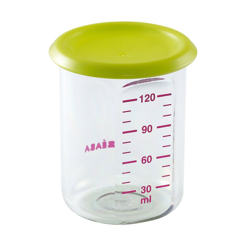 Beaba 150ml Food Jar Baby Portion Green
