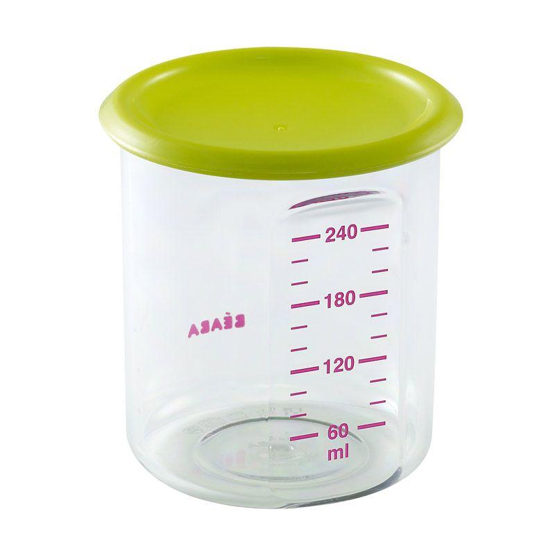 Beaba 300ml Food Jar Baby Portion Green