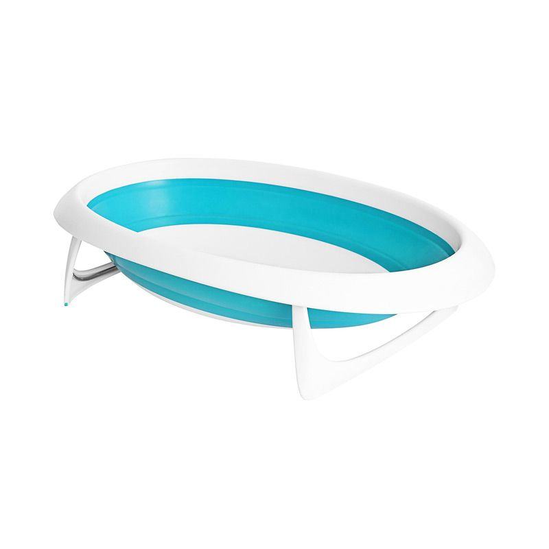 Boon Naked Collapsible Bathtub Blue Bak Mandi Bayi