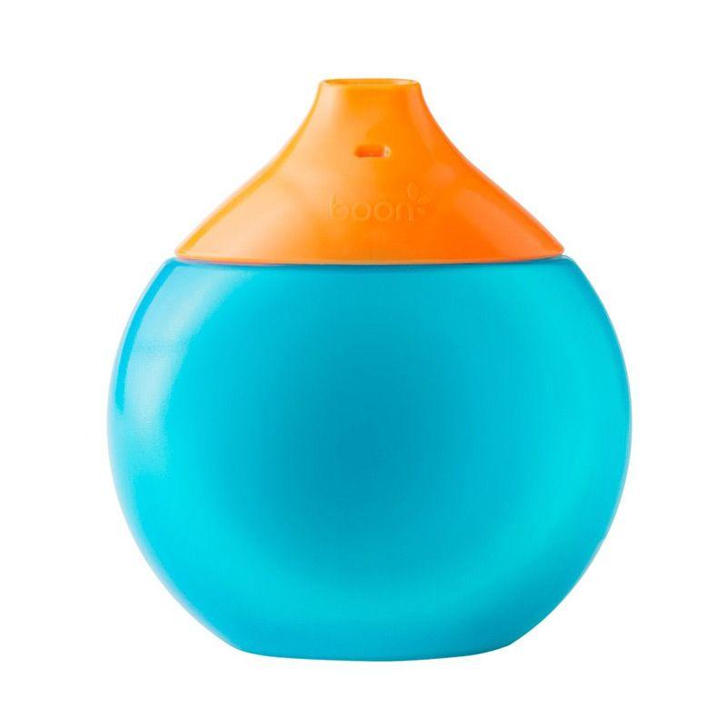 Boon New Fluid Blue Orange Botol Minum