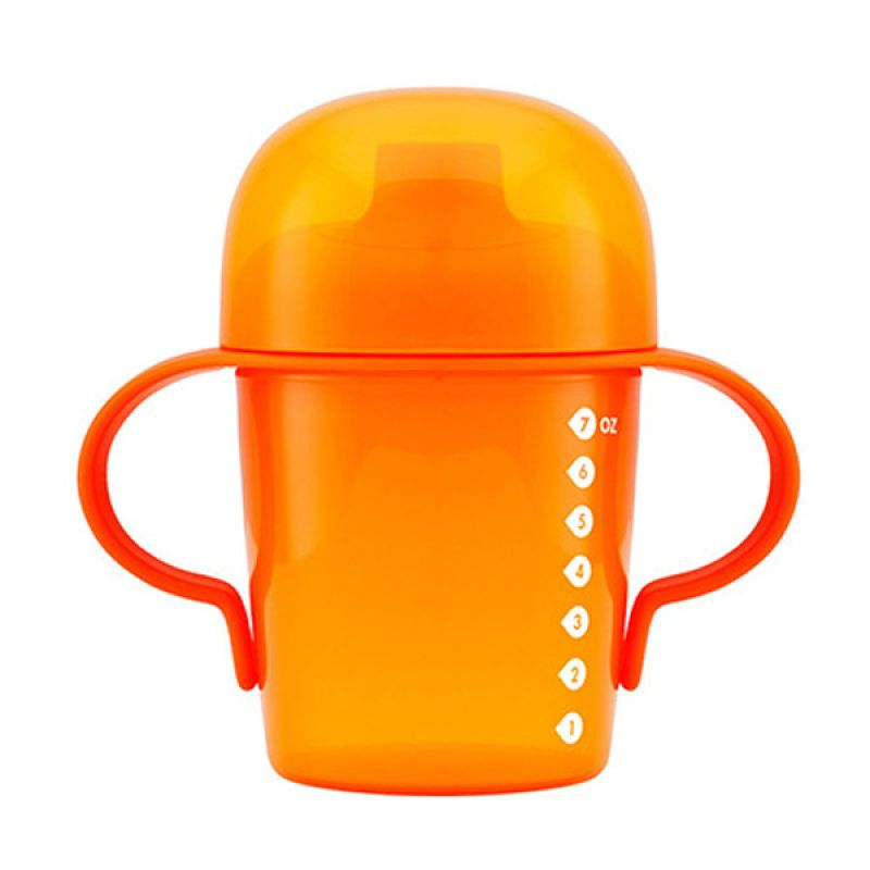 Boon Sippy Cup Short 7oz Orange
