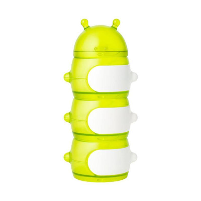 Boon Stack Caterpillar Snack Green