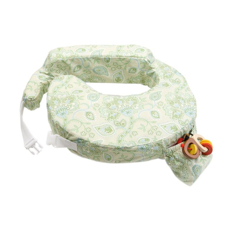 My Brest Friend Green Paisley Nursing Pillow
