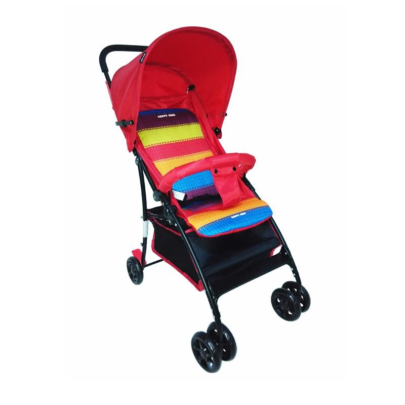BabyDoes Happy Dino LC 188 Merah Kereta Dorong Bayi