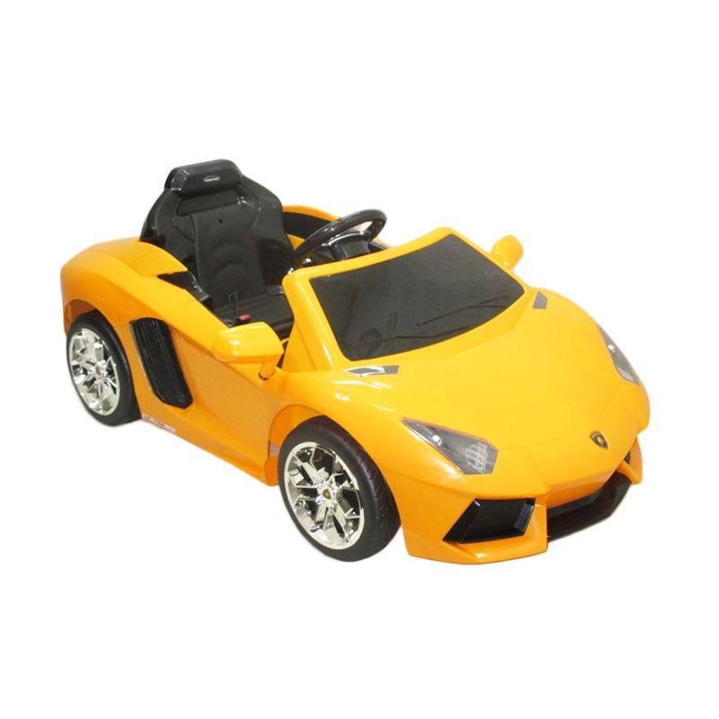 Doestoys DT 7013 Lamborgini Adventador Yellow Mainan Anak