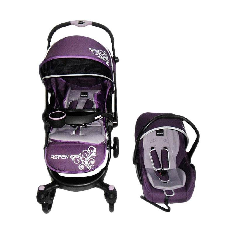 harga Baby Elle Stroller Aspen TS S603 Kereta Dorong Bayi - Purple Blibli.com