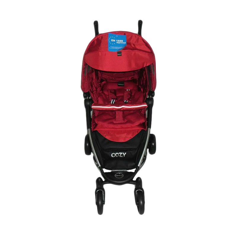 harga Baby Elle Stroller Cozy Kereta Dorong Bayi - Red Blibli.com