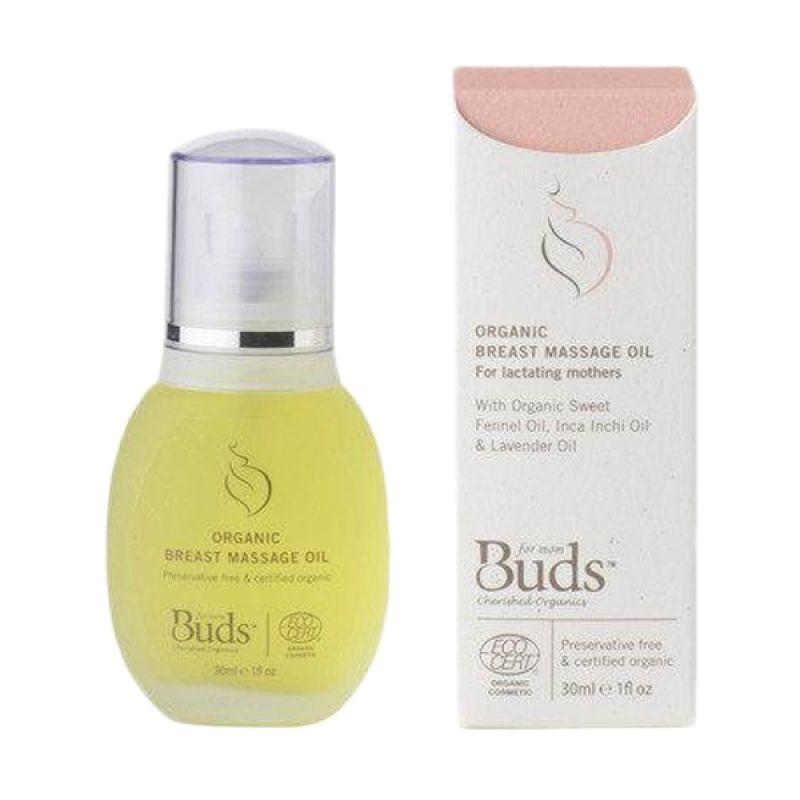 Buds Organics - Breast Message Oil - Minyak Ibu Organik