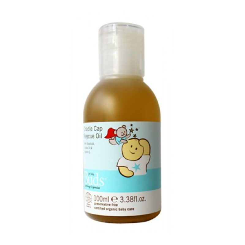 Buds Organic Cradle Cap Rescue Oil [100 mL]