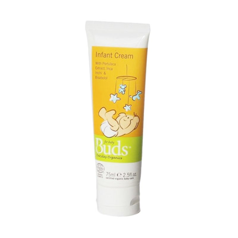 Buds Organic Infant Cream Bayi [75 mL]