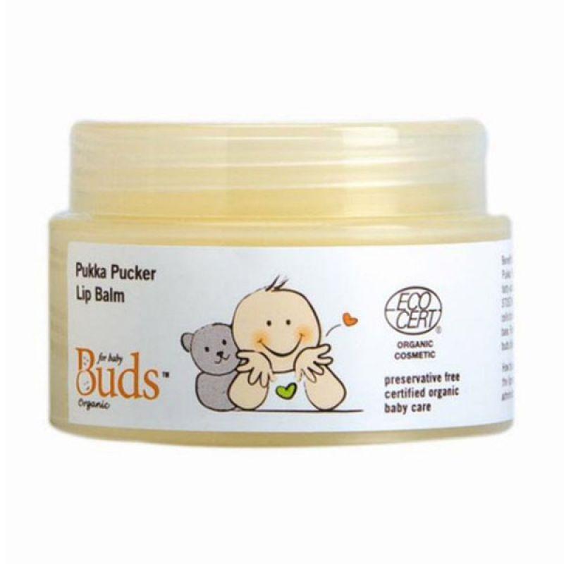 Buds Organic Pukka Pucker Lip Balm - Pelembab Bibir Organik