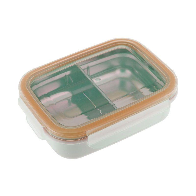 Innobaby Keepin Fresh Double Insulated Stainless Orange Kotak Makan