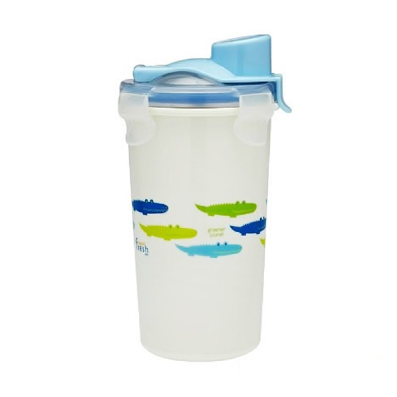 Innobaby - Keepin Fresh Stainless Drinking Cup 12 oz Blue