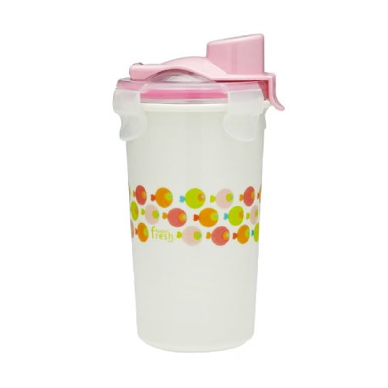Innobaby - Keepin Fresh Stainless Drinking Cup 12 oz Pink