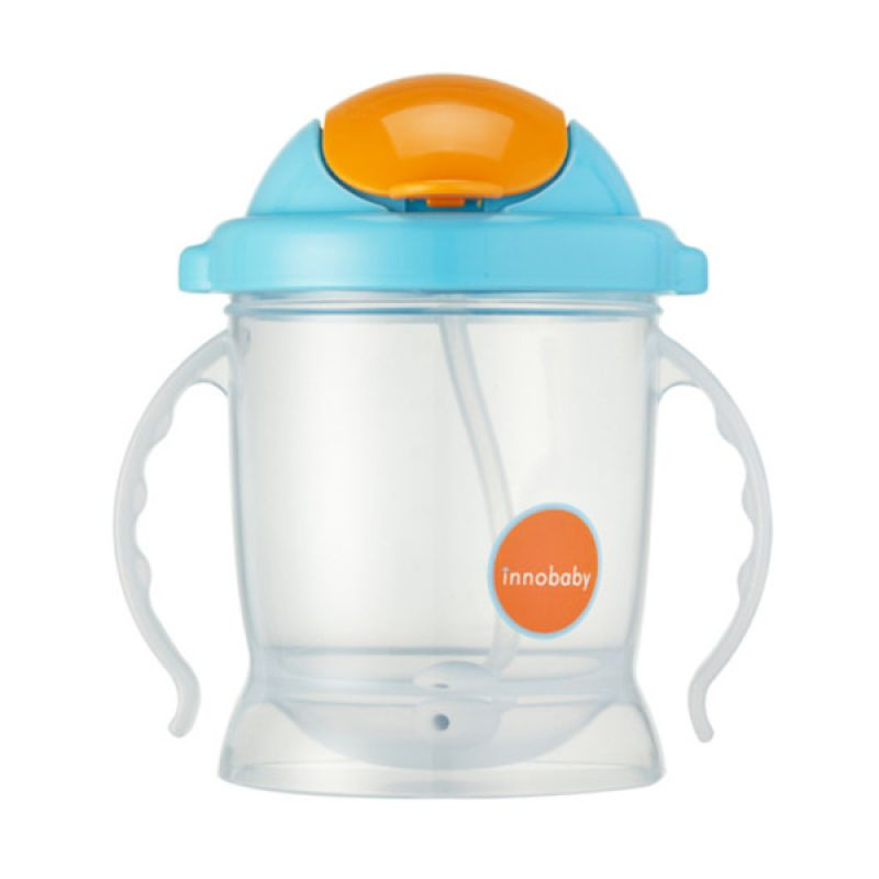 innobaby - Sippin' SMART ez flow sippy Blue Training Cup
