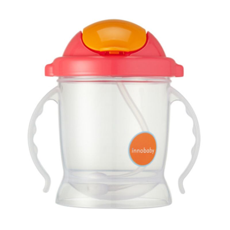 innobaby - Sippin' SMART ez flow sippy Pink Training Cup