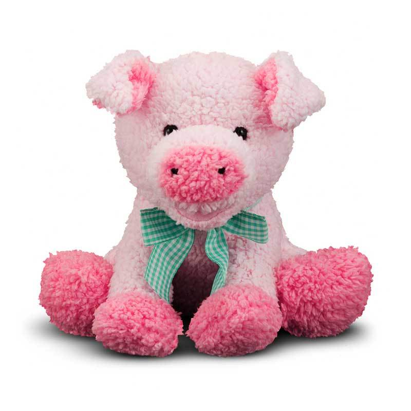 Melissa & Doug Meadow Medley Piggy Stuffed Animal