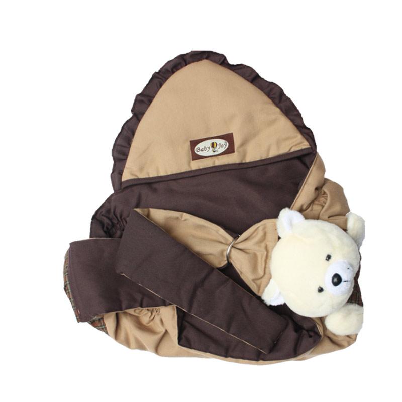 Jual Baby Joy Gendongan Samping Topi Aplikasi Boneka