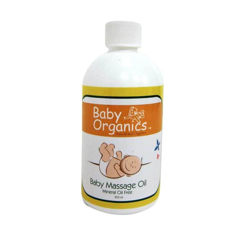 Baby Organics Massage Oil 250ml
