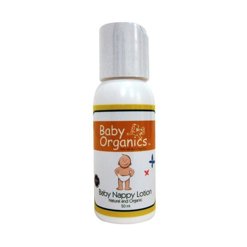 Baby Organics Nappy Lotion Travel Size 50ml