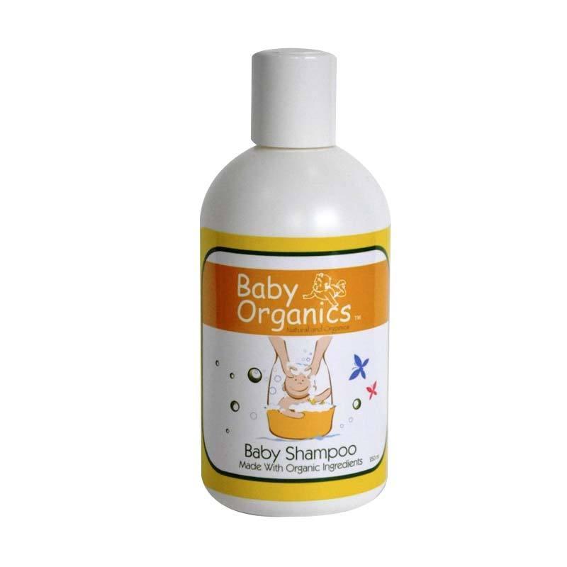 Baby Organics Shampoo 81% Organic 250ml