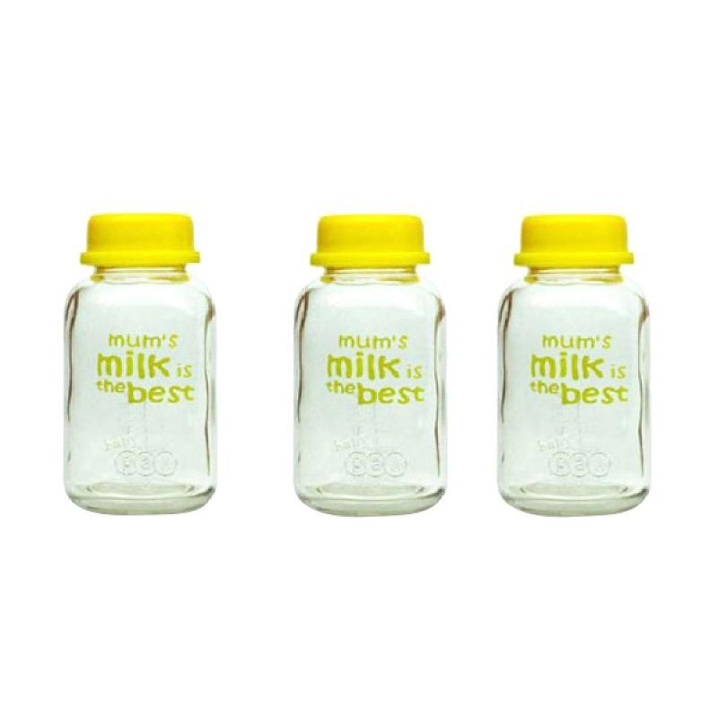 harga BabyPax Breast Milk Glass Botol Susu [150 mL] Blibli.com
