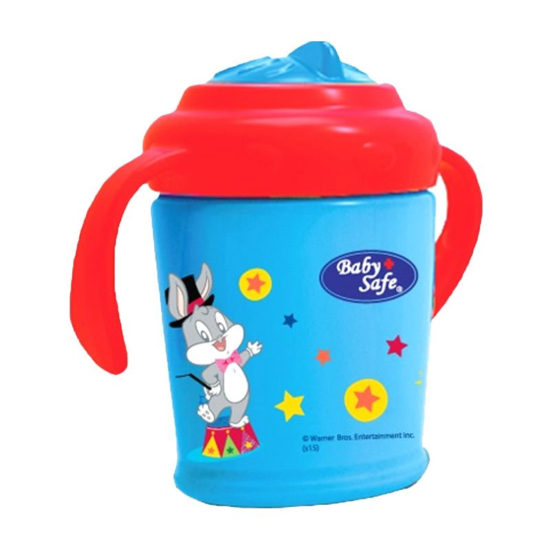 Baby Safe PM06B Blue or Green Training Cup Botol Minum