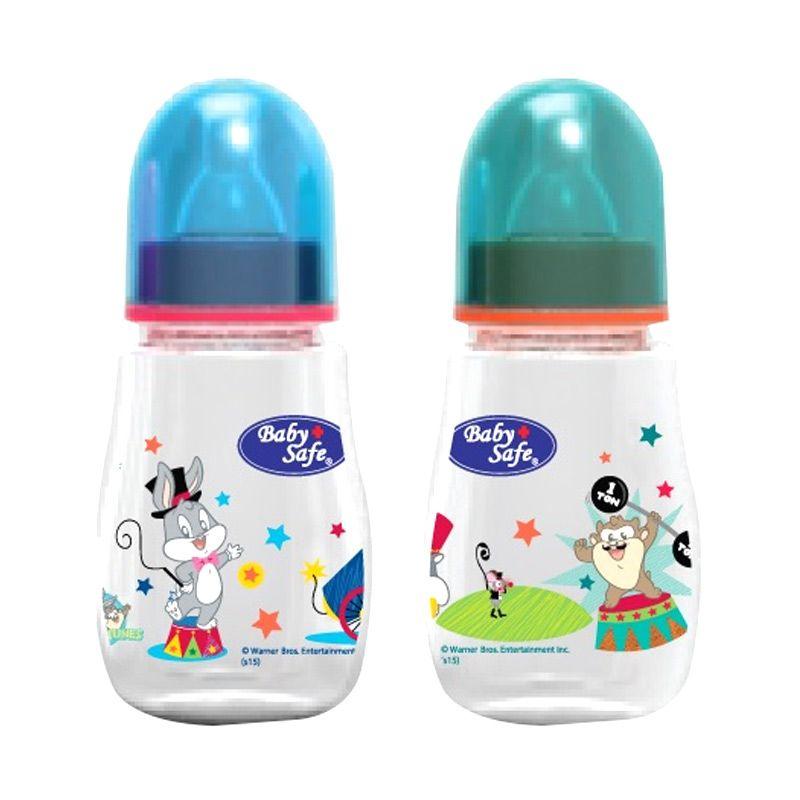 Baby Safe Ear Hood PM08B Blue or Green Botol Susu [125 mL]