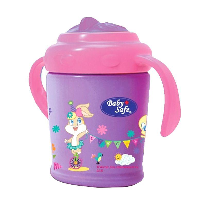 Baby Safe PM06P Pink or Orange Training Cup Botol Minum