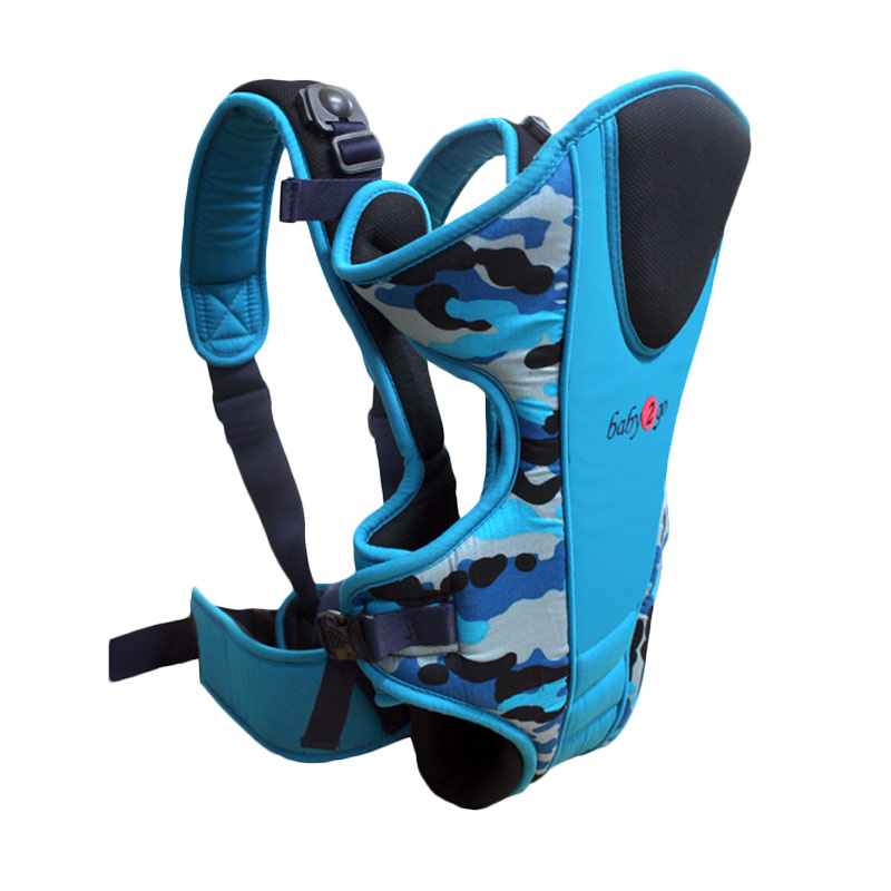 Baby Scots Carrier Baby 2 Go Army 08 Gendongan Bayi - Blue
