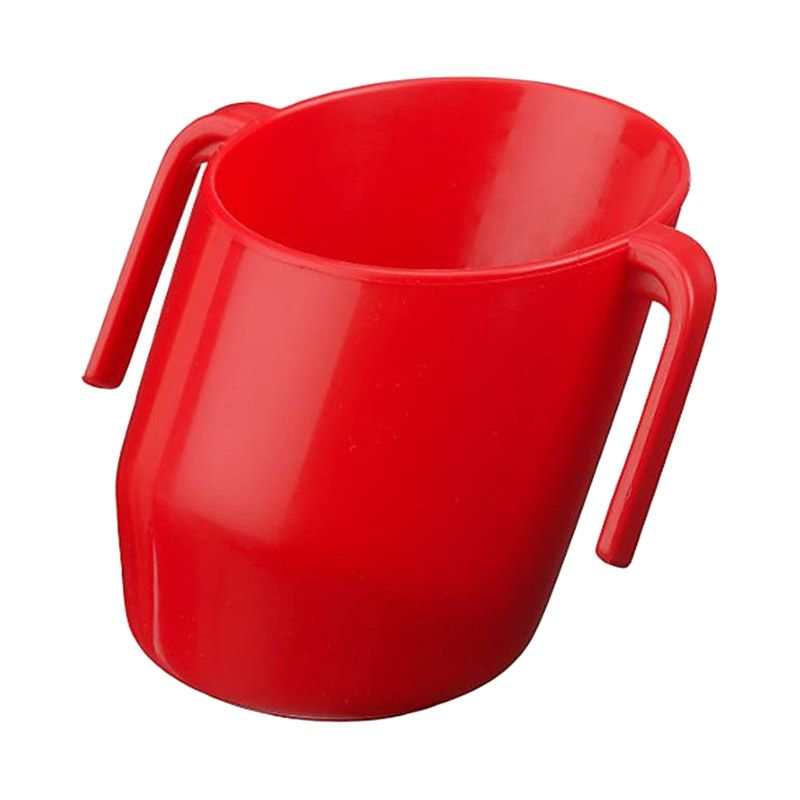 Doidy Cup Modern Training Cup Red Alat Makan Bayi