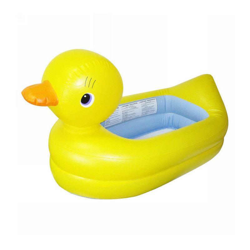 Munchkin Inflatable Safety Duck Tub Bak Mandi Bayi