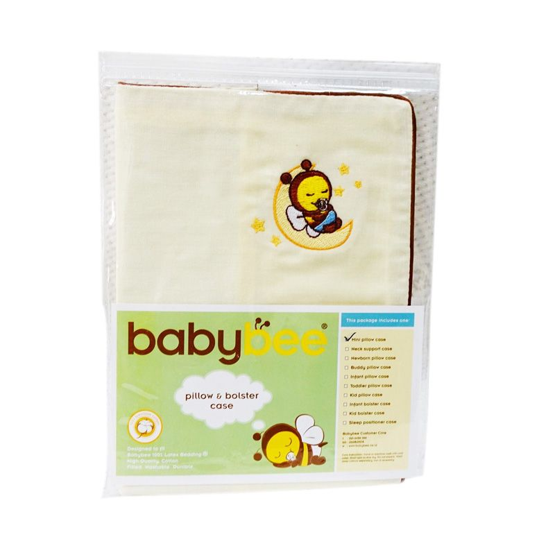 Babybee Case Kid Bolster Cream Sarung Bantal Bayi