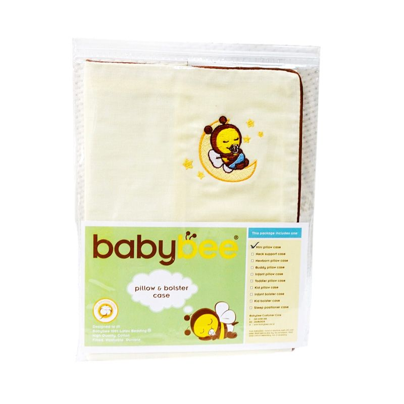 Babybee Case Sleep Positioner Cream Sarung Bantal Bayi