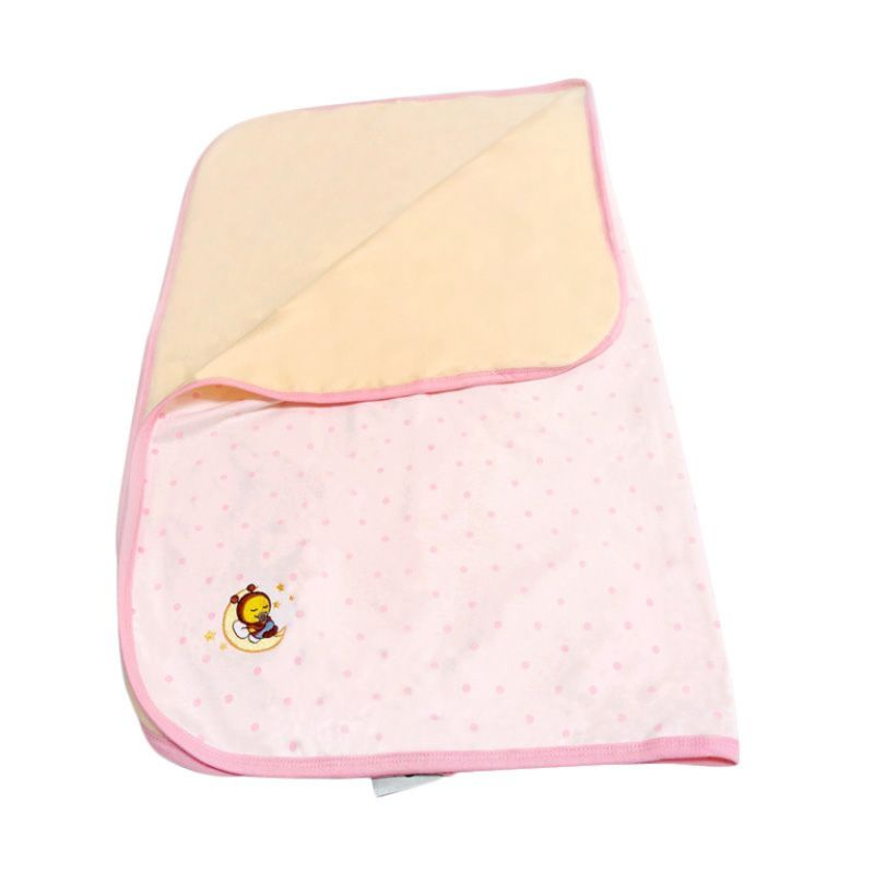 Babybee Dream Blanket - Polka Pink