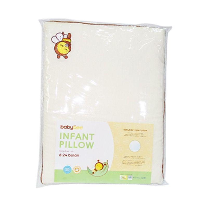 Babybee Infant Pilllow W/Case (Bantal Bayi)