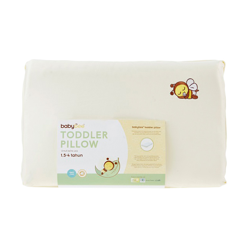 Babybee Toddler Pillow W/Case (Bantal Balita))