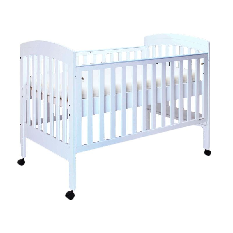 Babybelle - Angela Slat Crib Off White [ Khusus Area Jabodetabek ]