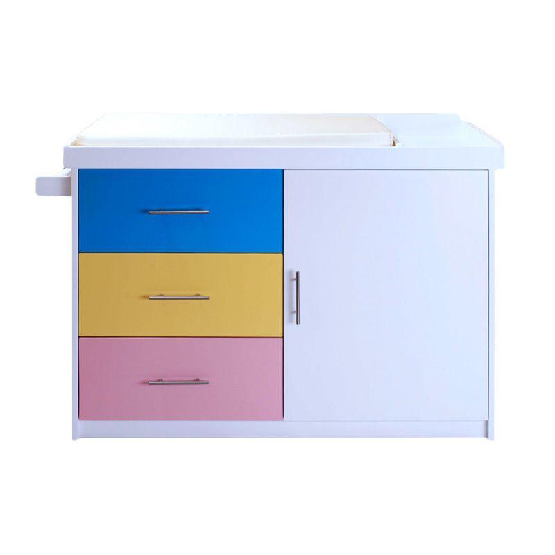 Babybelle - Baby Dream Dresser Rainbow [ Khusus Area Jabodetabek ]