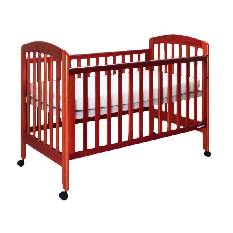 Babybelle - Chelsea Crib Honey [ Khusus Area Jabodetabek ]