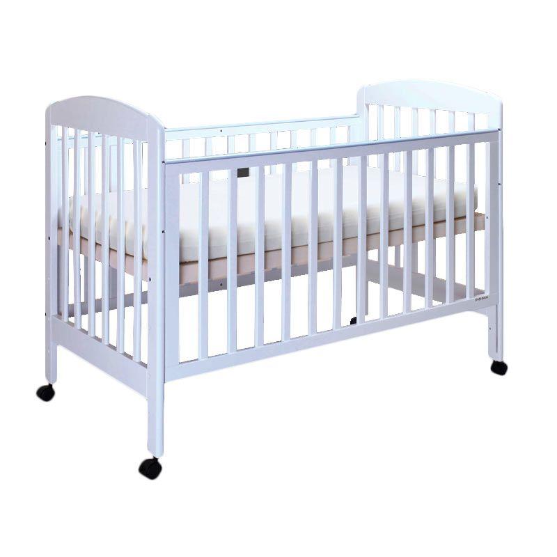 Babybelle - Christopher Crib Off White [ Khusus Area Jabodetabek ]