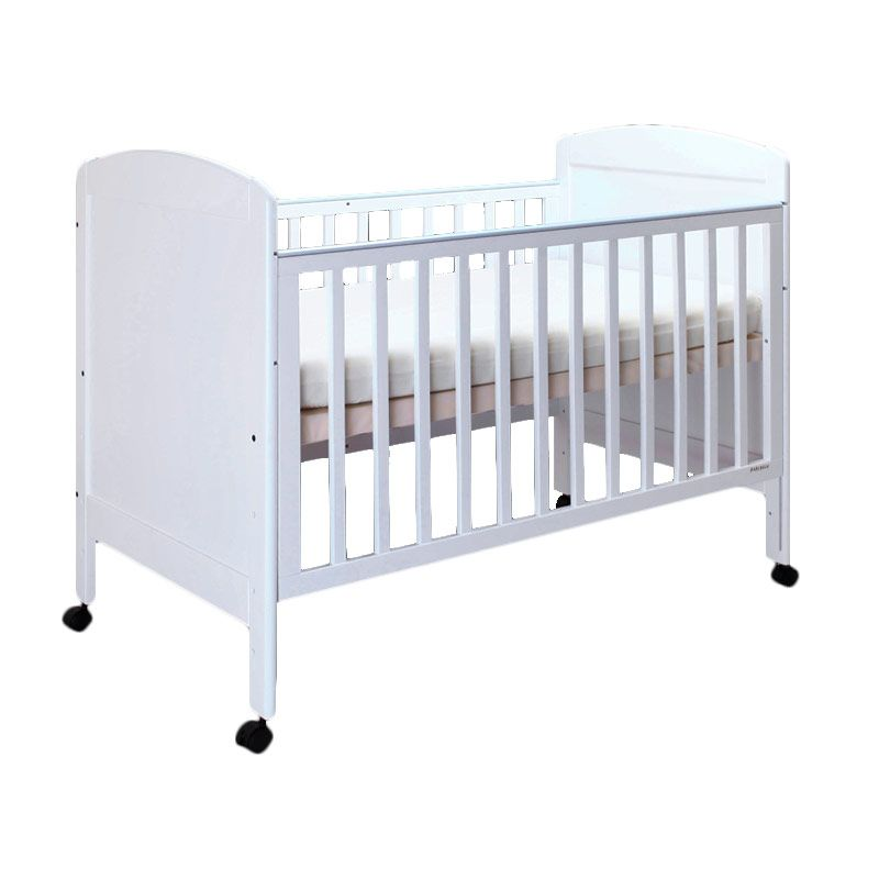 Babybelle - Christopher Panel Crib Off White [ Khusus Area Jabodetabek ]